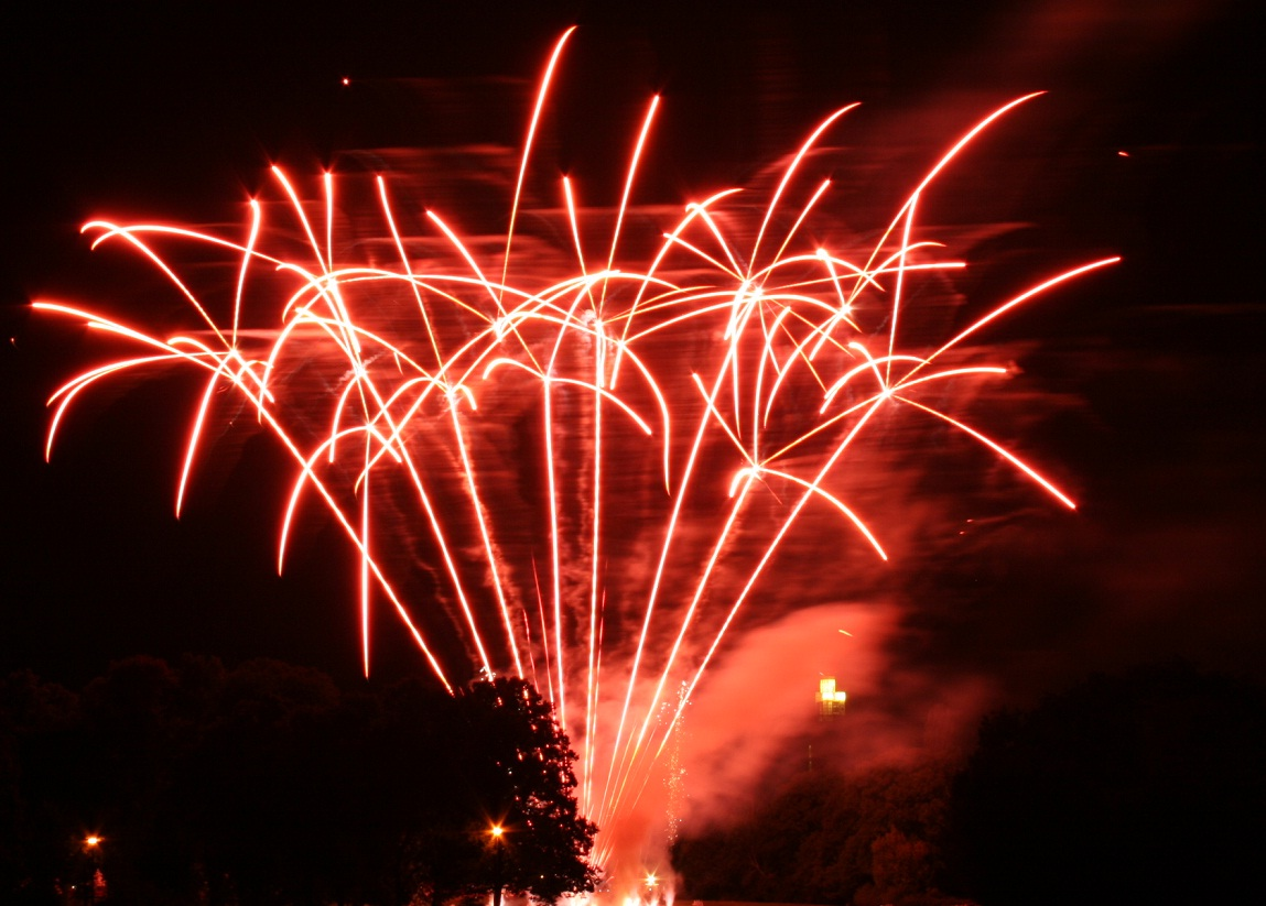 Feuerwerk Veranstaltungshaus Panoramic in Braunschweig