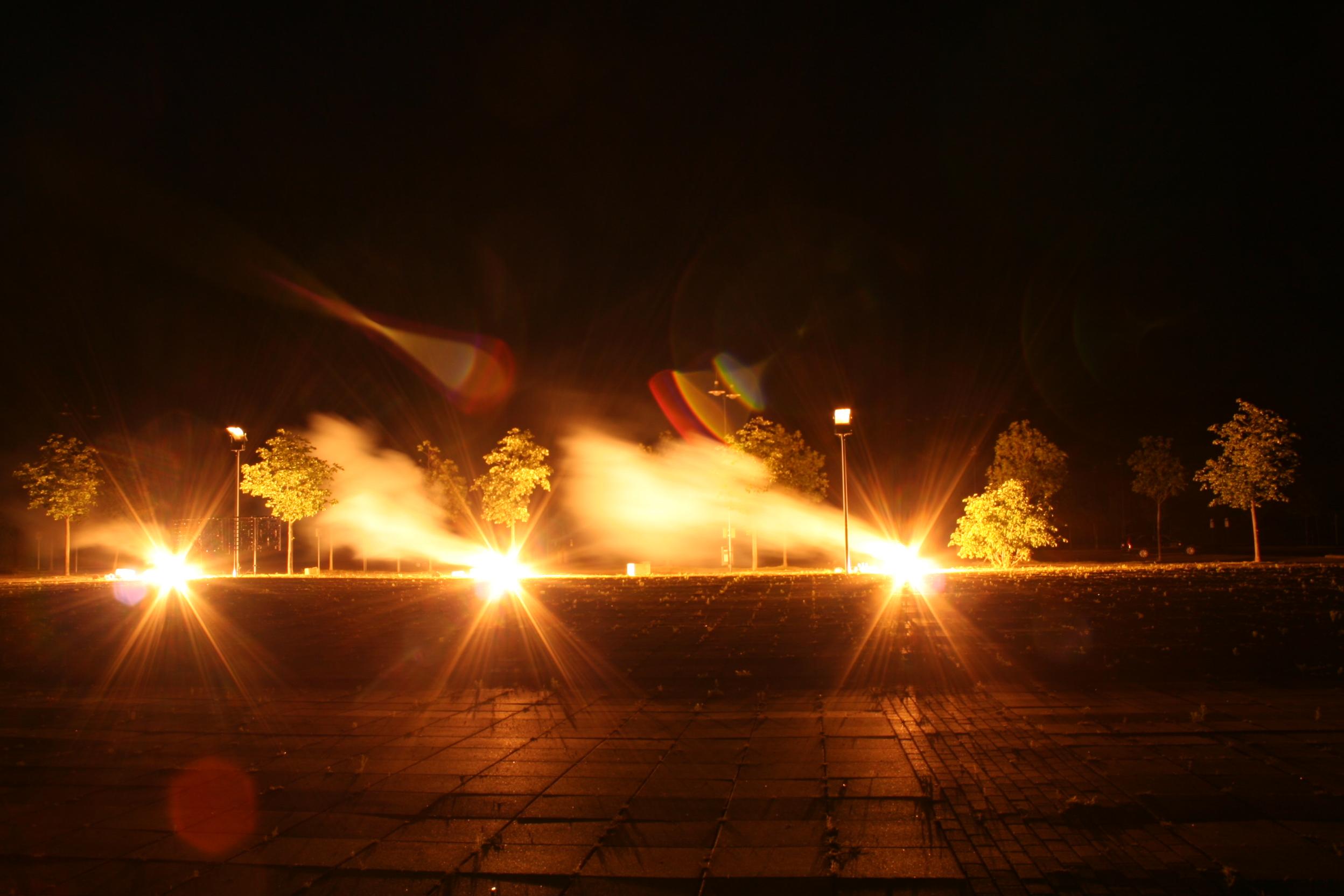 Feuerwerk Schweizer Haus